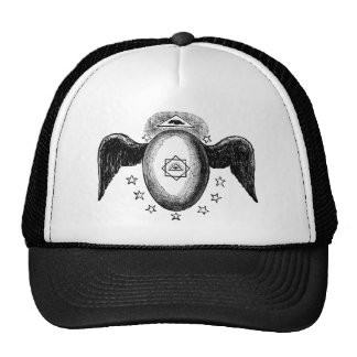 Kneph All Seeing Eye Masonic Symbol Cap