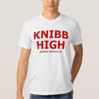 Knibb High Academic Decathlon '95 T-shirt