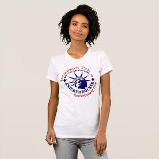 Knickerbocker Blue and White Logo T-Shirt