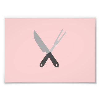 knife and fork photograph