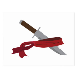 Knife & Bandana Postcard