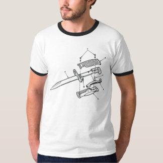 Knife Diagram Tshirts
