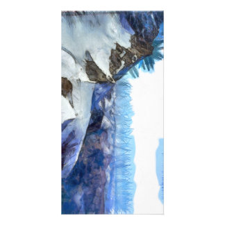 Knife edge of the Swiss Alps Picture Card