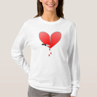 Knife In Heart T-Shirt