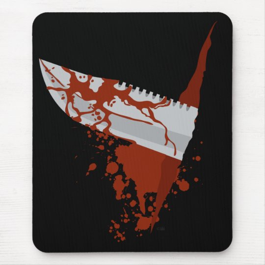 Knife Mouse Mat