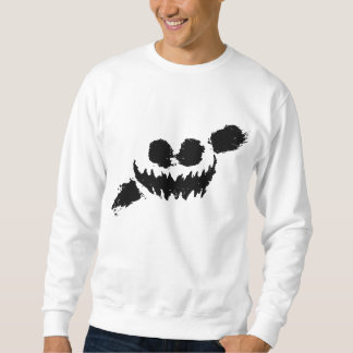 Knife party sweetshirt white/black sweatshirt