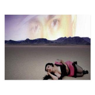 """Knife"" Sotelo/Mina Rose Postcard"
