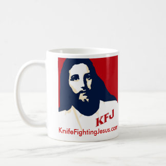 KnifeFightingJesus.com Mug