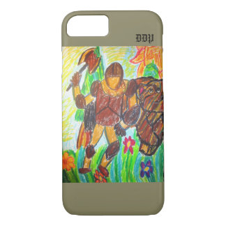 knight and bear iPhone 8/7 case