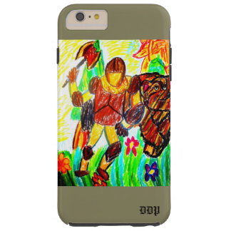 knight and bear tough iPhone 6 plus case