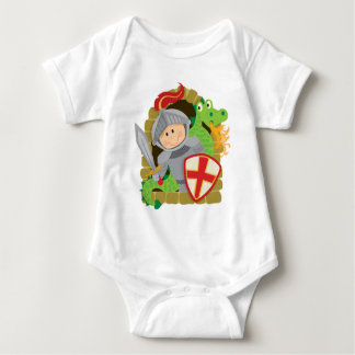 Knight and Dragon Baby Bodysuit
