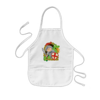 Knight and Dragon Kids Apron