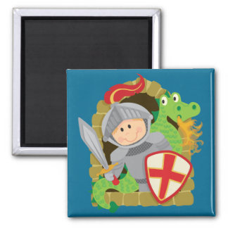 Knight and Dragon Magnet