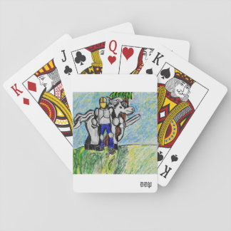 knight and horse playing cards