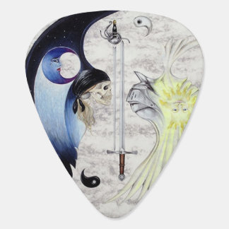 Knight and Pirate Yin and Yang Plectrum