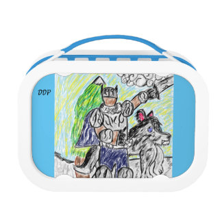 knight and wolf 2 lunch box