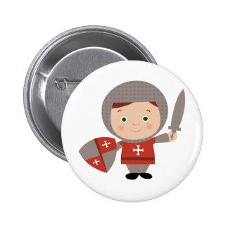 Knight Base Pinback Button