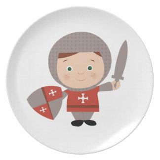 Knight Base Dinner Plates