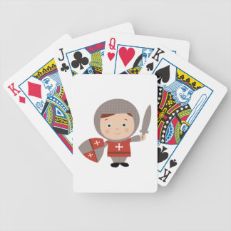 Knight Base Bicycle Playing Cards