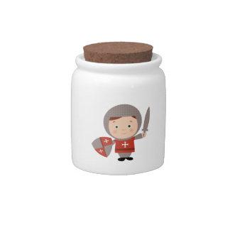 Knight Base Candy Jar