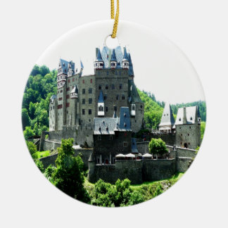 Knight Castle Eltz wierschem god peace joy Christmas Ornament