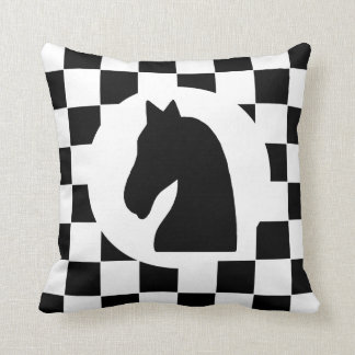 Knight Chess Piece - Pillow - Chess Themed Gift