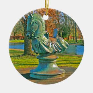 Knight Christmas Ornament