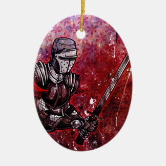 Knight Christmas Ornament