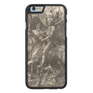 Knight, Death and the Devil, 1513 (engraving) Carved Maple iPhone 6 Case