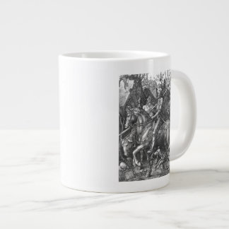 Knight, Death and the Devil, 1513 (engraving) Large Coffee Mug