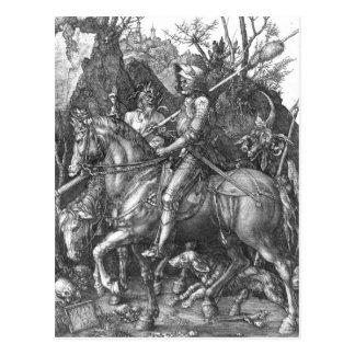 Knight, Death and the Devil, 1513 (engraving) Postcard