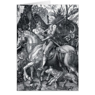 Knight, Death and the Devil - Albrecht Dürer Card