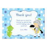 Knight Dragon Thank you Card Personalised Invite