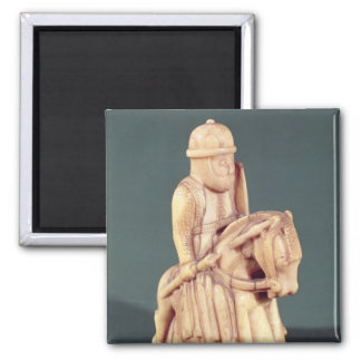Knight from a chess set square magnet