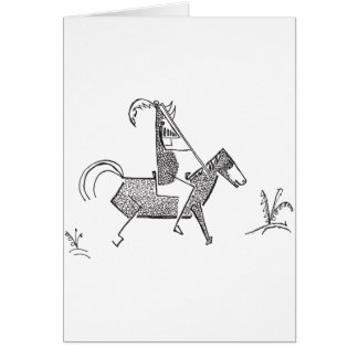 Knight Greeting Card