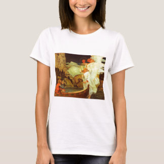 Knight Holy Grail Angels painting T-Shirt