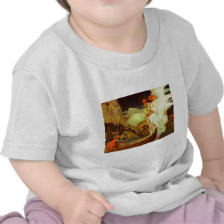 Knight Holy Grail Angels painting Tee Shirts