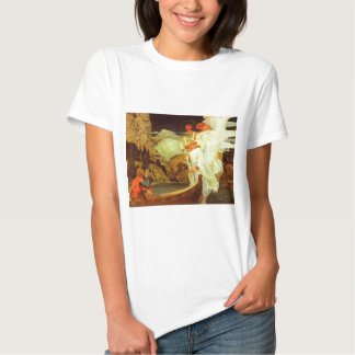 Knight Holy Grail Angels painting Tshirts