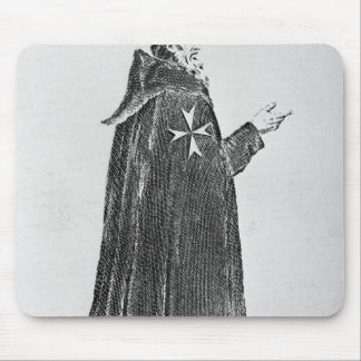 Knight Hospitaller in the original habit Mouse Mat