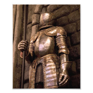 Knight in Armor Photo Print