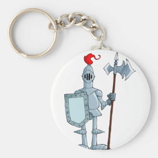 Knight In Armour Keychain