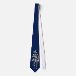 Knight in Armour Quest Blue Tie