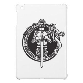 Knight in Dragon Circle iPad Mini Covers