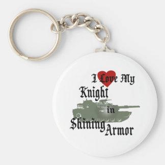 Knight in Shining Armor/ Tank Key Ring