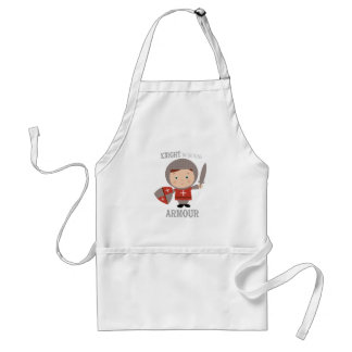 Knight In Shining Armour Adult Apron