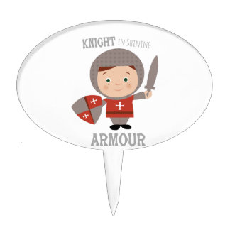 Knight In Shining Armour Cake Toppers