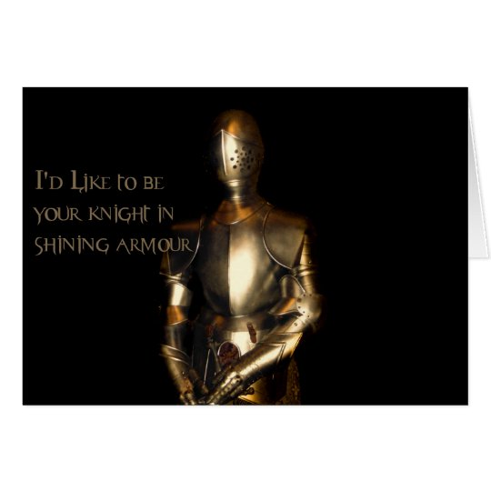 Knight in Shining Armour Card