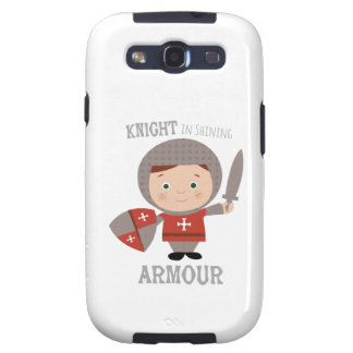 Knight In Shining Armour Samsung Galaxy S3 Cover