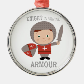 Knight In Shining Armour Christmas Tree Ornaments