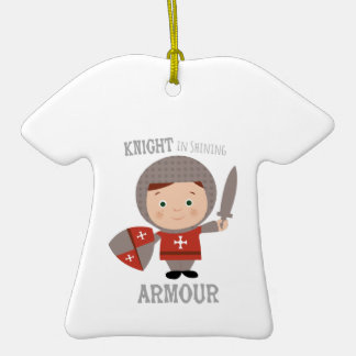 Knight In Shining Armour Christmas Ornament